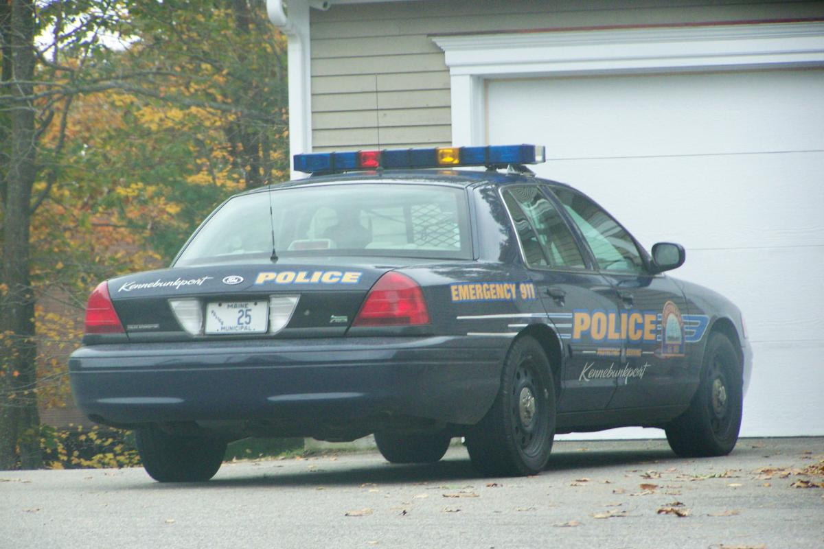Older Kennebunkport Police Cruiser