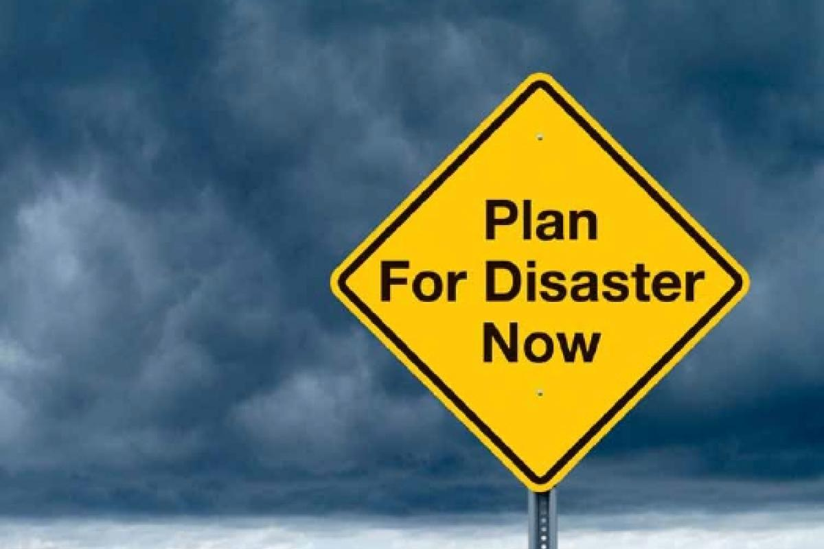 Be Prepared For Disaster!!!