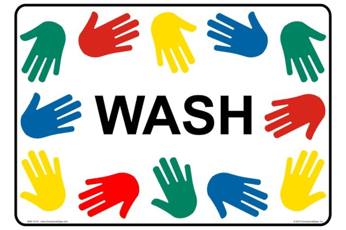 Wash your hands! #1 fight against germs and spread of disease!