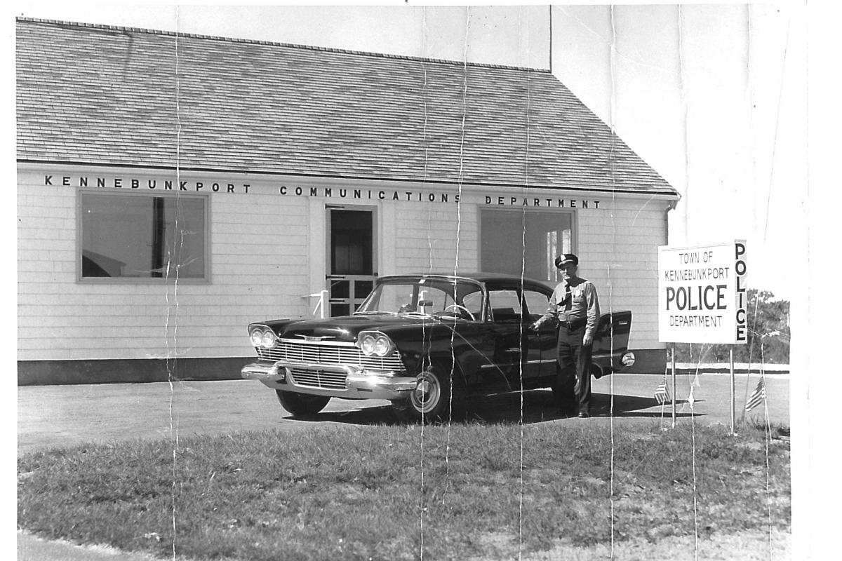 Chief Innis at the Kennebunkport Police Department